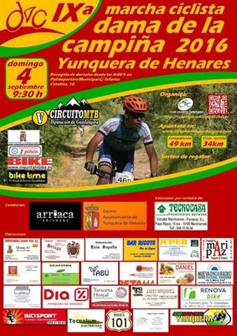 ix marcha cc yunquera dama de la campiña 2016