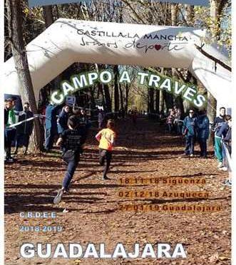 3ª Jornada Provincial Escolar Campo a Través –  Guadalajara 2018/2019
