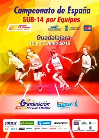 v-campeonato españa sub 14 equipos 2018