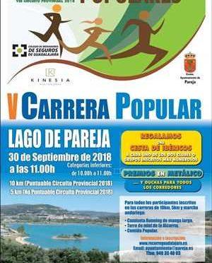 V CARRERA POPULAR LAGO DE PAREJA