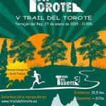 v trail del torote 2019