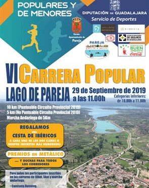VI Carrera Popular Lago de Pareja