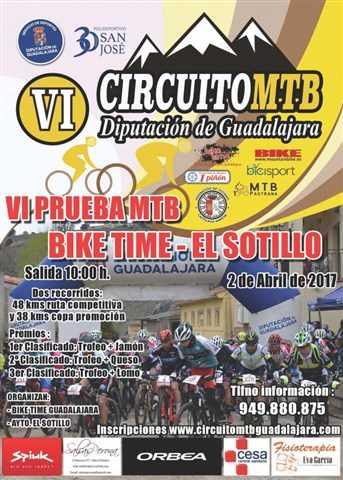 vi prueba mtb biketime el sotillo 2017