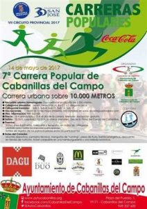 vii carrera popular cabanillas del campo 2017