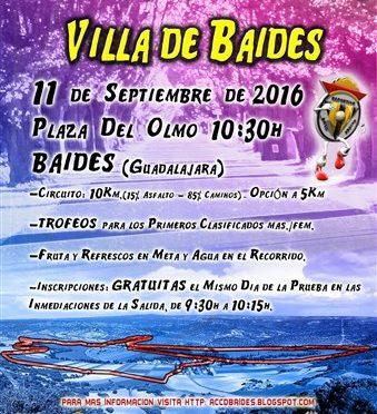 VII CARRERA POPULAR VILLA DE BAIDES