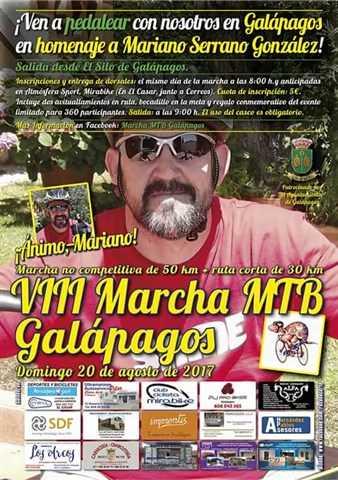 viii marcha mtb galapagos 2017