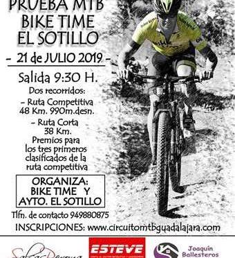 VIII Prueba MTB Bike Time El Sotillo