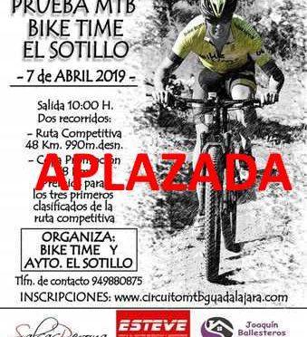 VIII Prueba MTB Bike Time El Sotillo – APLAZADA