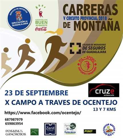x carrera campo a traves de ocentejo 2018