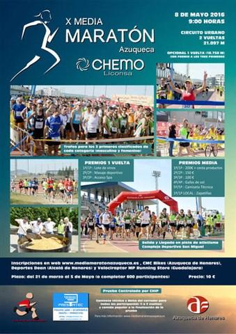 x media maraton de azuqueca 2016