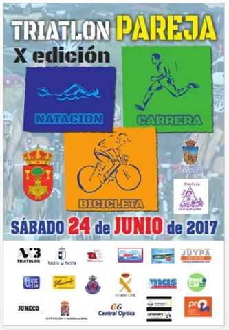 x triatlon pareja 2017
