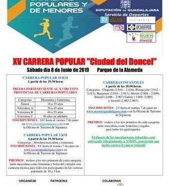 XV Carrera Popular Ciudad del Doncel