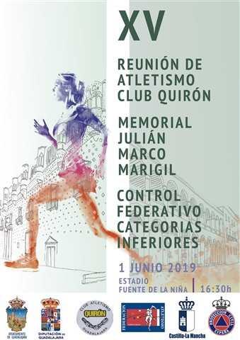 xv fiesta del atletismo ca quiron memorial julian marco marigil 2019