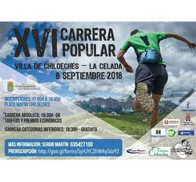 XVI CARRERA POPULAR VILLA DE CHILOECHES