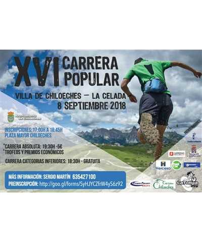xvi carrera popular villa chiloeches 2018