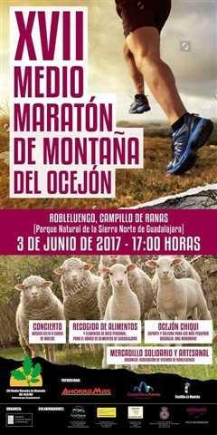 xvii medio maraton del ocejon 2017