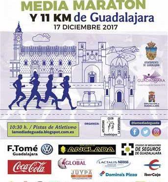 xviii media maraton de guadalajara 2017