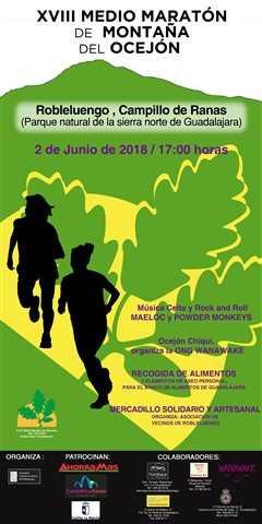 xviii medio maraton del ocejon 2018
