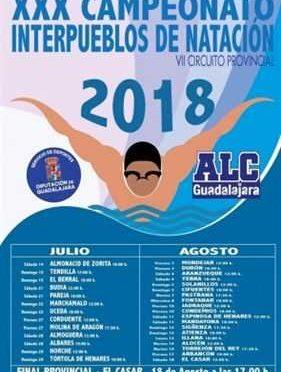 XXX INTERPUEBLOS NATACION 2018