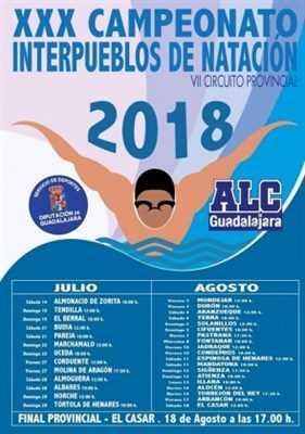 xxx interpueblos de natacion 2018