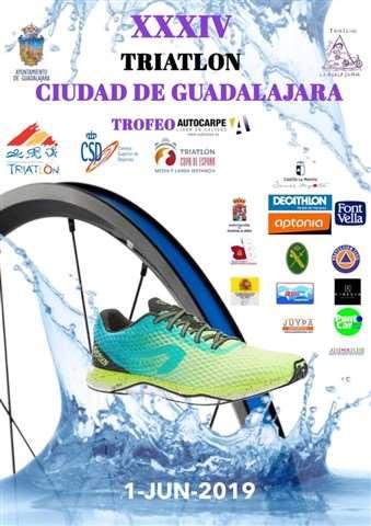 xxxiv triatlon de guadalajara 2019