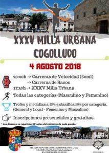 xxxv milla urbana cogolludo 2018